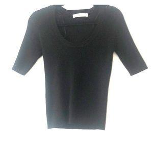 Zara Knit black shirt - never worn!
